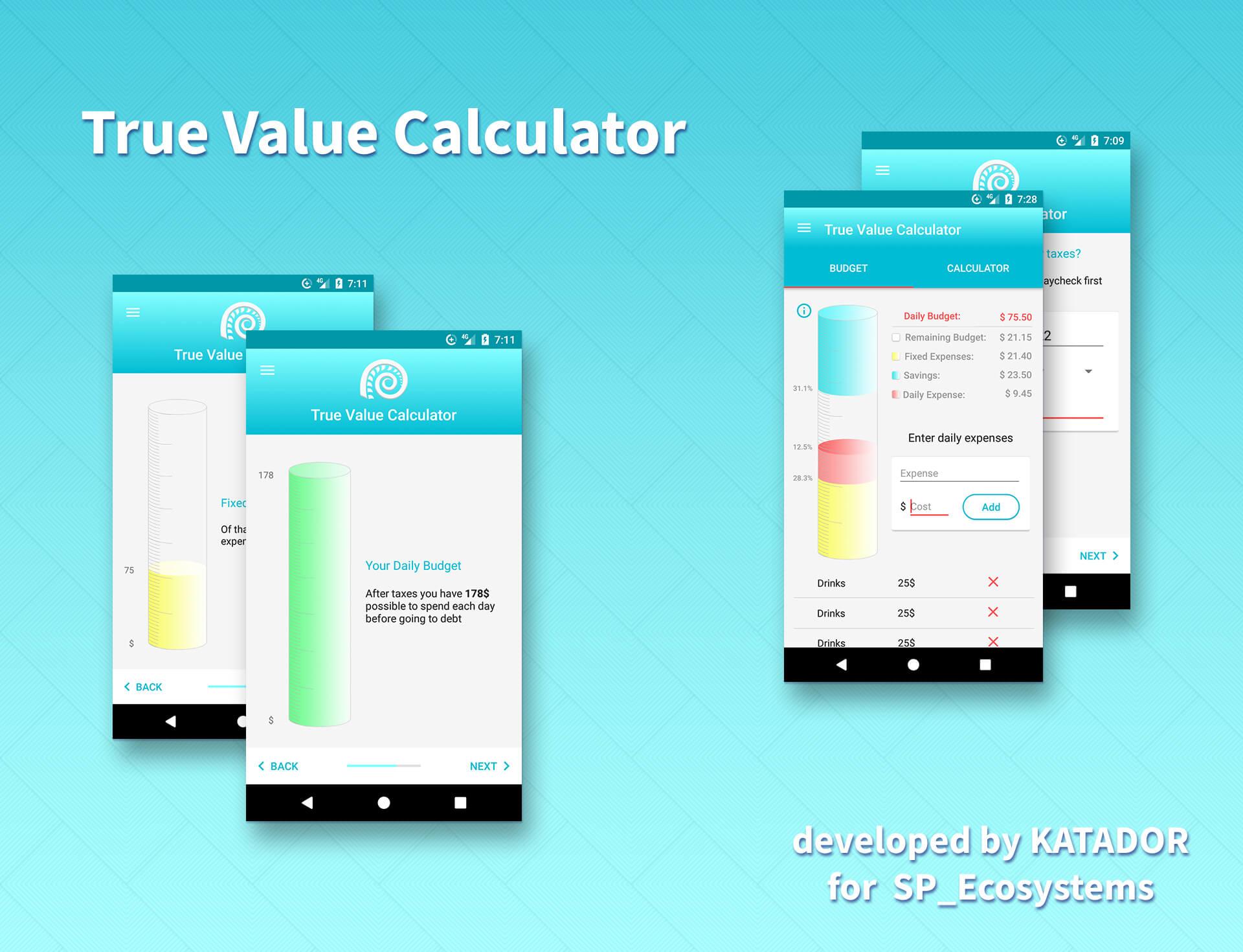 true value calculator detailsl