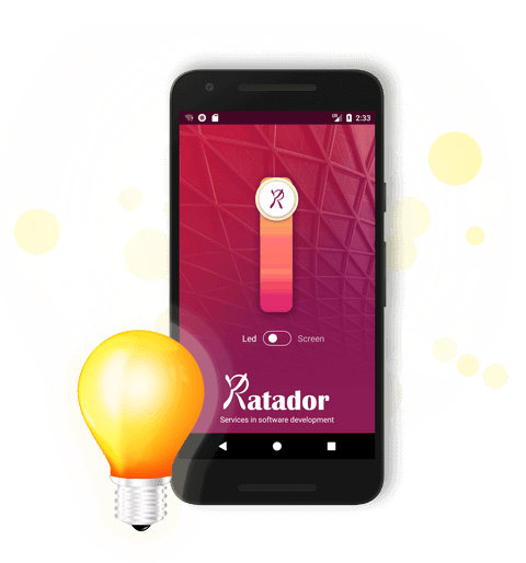lightkatador application android branding